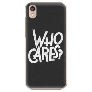 Plastové pouzdro iSaprio - Who Cares na mobil Honor 8S