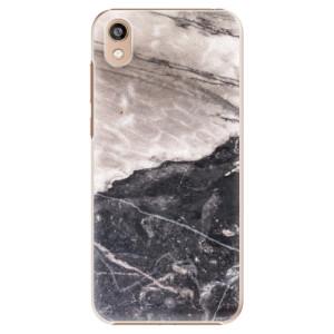 Plastové pouzdro iSaprio - BW Marble na mobil Honor 8S