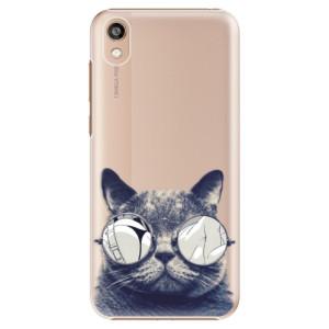 Plastové pouzdro iSaprio - Crazy Cat 01 na mobil Honor 8S