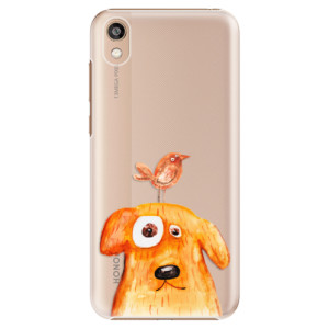 Plastové pouzdro iSaprio - Dog And Bird na mobil Honor 8S