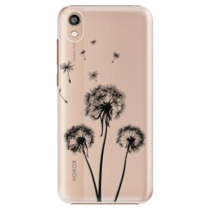 Plastové pouzdro iSaprio - Three Dandelions - black na mobil Honor 8S / Y5 2019