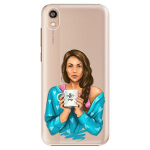 Plastové pouzdro iSaprio - Coffe Now - Brunette na mobil Honor 8S