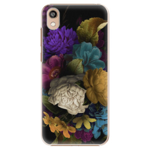 Plastové pouzdro iSaprio - Dark Flowers na mobil Honor 8S