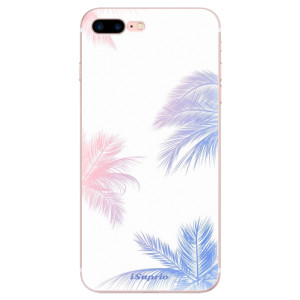 Silikonové odolné pouzdro iSaprio - Digital Palms 10 na mobil Apple iPhone 7 Plus