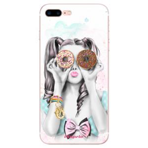 Silikonové odolné pouzdro iSaprio - Donuts 10 na mobil Apple iPhone 7 Plus