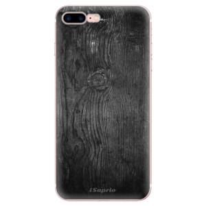 Silikonové odolné pouzdro iSaprio - Black Wood 13 na mobil Apple iPhone 7 Plus