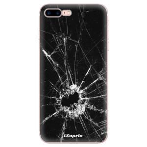 Silikonové odolné pouzdro iSaprio - Broken Glass 10 na mobil Apple iPhone 7 Plus