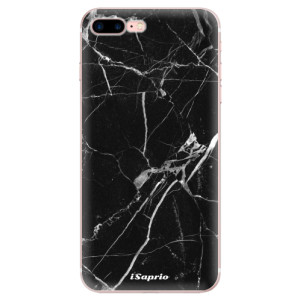 Silikonové odolné pouzdro iSaprio - Black Marble 18 na mobil Apple iPhone 7 Plus