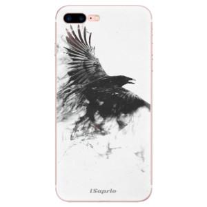 Silikonové odolné pouzdro iSaprio - Dark Bird 01 na mobil Apple iPhone 7 Plus