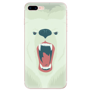 Silikonové odolné pouzdro iSaprio - Angry Bear na mobil Apple iPhone 7 Plus