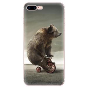 Silikonové odolné pouzdro iSaprio - Bear 01 na mobil Apple iPhone 7 Plus