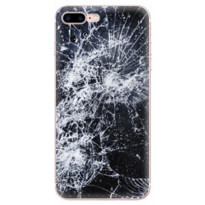 Silikonové odolné pouzdro iSaprio - Cracked na mobil Apple iPhone 7 Plus