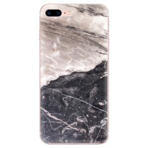 Silikonové odolné pouzdro iSaprio - BW Marble na mobil Apple iPhone 7 Plus