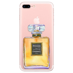 Silikonové odolné pouzdro iSaprio - Chanel Gold na mobil Apple iPhone 7 Plus