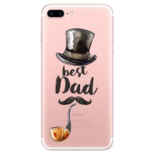 Silikonové odolné pouzdro iSaprio - Best Dad na mobil Apple iPhone 7 Plus