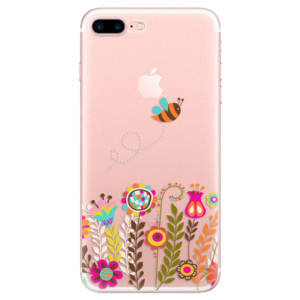 Silikonové odolné pouzdro iSaprio - Bee 01 na mobil Apple iPhone 7 Plus