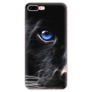 Silikonové odolné pouzdro iSaprio - Black Puma na mobil Apple iPhone 7 Plus
