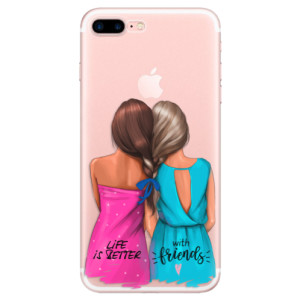 Silikonové odolné pouzdro iSaprio - Best Friends na mobil Apple iPhone 7 Plus
