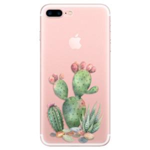 Silikonové odolné pouzdro iSaprio - Cacti 01 na mobil Apple iPhone 7 Plus
