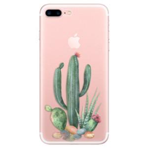 Silikonové odolné pouzdro iSaprio - Cacti 02 na mobil Apple iPhone 7 Plus