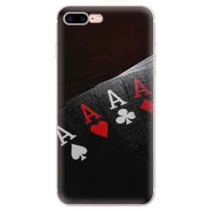 Silikonové odolné pouzdro iSaprio - Poker na mobil Apple iPhone 7 Plus - poslední kousek za tuto cenu