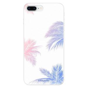 Silikonové odolné pouzdro iSaprio - Digital Palms 10 na mobil Apple iPhone 8 Plus