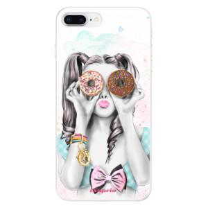 Silikonové odolné pouzdro iSaprio - Donuts 10 na mobil Apple iPhone 8 Plus