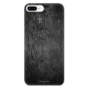 Silikonové odolné pouzdro iSaprio - Black Wood 13 na mobil Apple iPhone 8 Plus