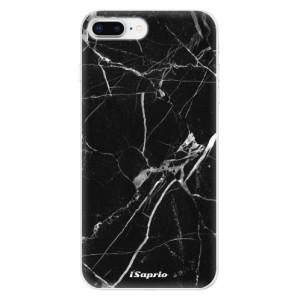 Silikonové odolné pouzdro iSaprio - Black Marble 18 na mobil Apple iPhone 8 Plus