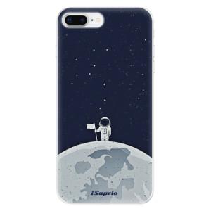 Silikonové odolné pouzdro iSaprio - On The Moon 10 na mobil Apple iPhone 8 Plus - poslední kousek za tuto cenu