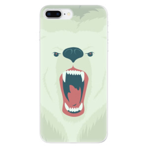 Silikonové odolné pouzdro iSaprio - Angry Bear na mobil Apple iPhone 8 Plus