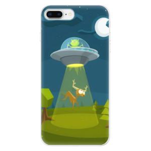 Silikonové odolné pouzdro iSaprio - Alien 01 na mobil Apple iPhone 8 Plus
