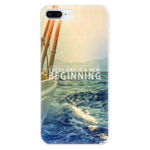 Silikonové odolné pouzdro iSaprio - Beginning na mobil Apple iPhone 8 Plus
