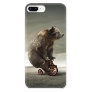 Silikonové odolné pouzdro iSaprio - Bear 01 na mobil Apple iPhone 8 Plus