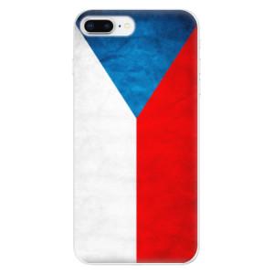 Silikonové odolné pouzdro iSaprio - Czech Flag na mobil Apple iPhone 8 Plus