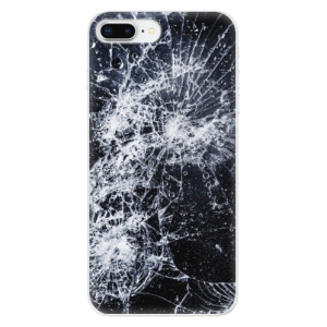 Silikonové odolné pouzdro iSaprio - Cracked na mobil Apple iPhone 8 Plus