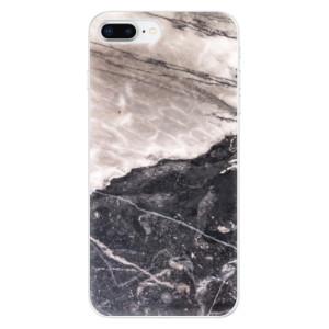 Silikonové odolné pouzdro iSaprio - BW Marble na mobil Apple iPhone 8 Plus