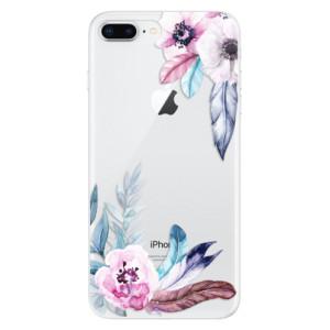 Silikonové odolné pouzdro iSaprio - Flower Pattern 04 na mobil Apple iPhone 8 Plus - poslední kus za tuto cenu