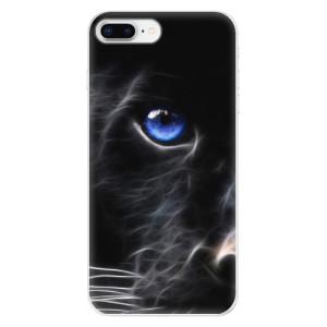Silikonové odolné pouzdro iSaprio - Black Puma na mobil Apple iPhone 8 Plus