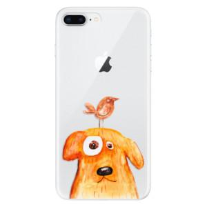 Silikonové odolné pouzdro iSaprio - Dog And Bird na mobil Apple iPhone 8 Plus
