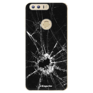 Silikonové odolné pouzdro iSaprio - Broken Glass 10 na mobil Honor 8