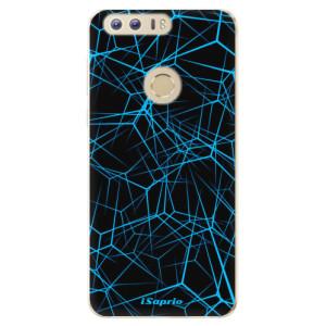Silikonové odolné pouzdro iSaprio - Abstract Outlines 12 na mobil Honor 8