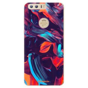 Silikonové odolné pouzdro iSaprio - Color Marble 19 na mobil Honor 8
