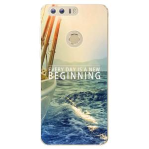 Silikonové odolné pouzdro iSaprio - Beginning na mobil Honor 8