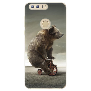 Silikonové odolné pouzdro iSaprio - Bear 01 na mobil Honor 8
