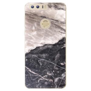 Silikonové odolné pouzdro iSaprio - BW Marble na mobil Honor 8