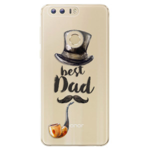 Silikonové odolné pouzdro iSaprio - Best Dad na mobil Honor 8