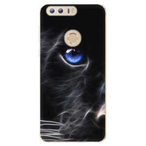 Silikonové odolné pouzdro iSaprio - Black Puma na mobil Honor 8