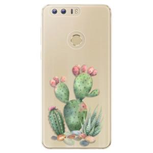 Silikonové odolné pouzdro iSaprio - Cacti 01 na mobil Honor 8