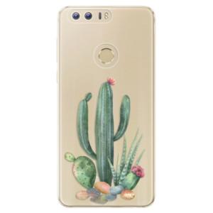 Silikonové odolné pouzdro iSaprio - Cacti 02 na mobil Honor 8